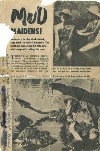 Moorbad - sehr alter Zeitungsartikel Teil 1