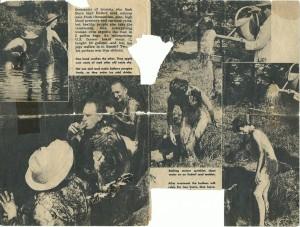 Moorbad - sehr alter Zeitungsartikel Teil 2